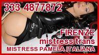Mistress Pamela Italiana