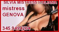 Silvia Mistress Italiana